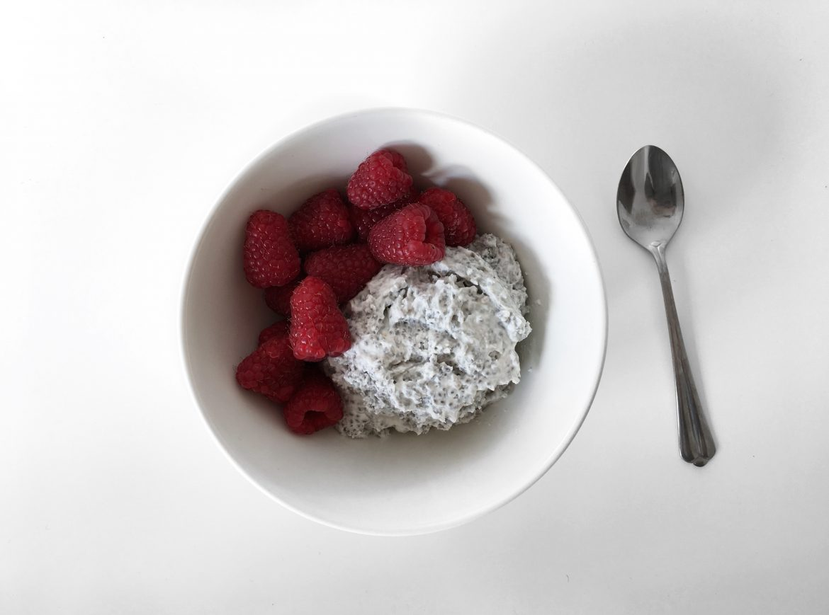 Coconut and Chia Pudding