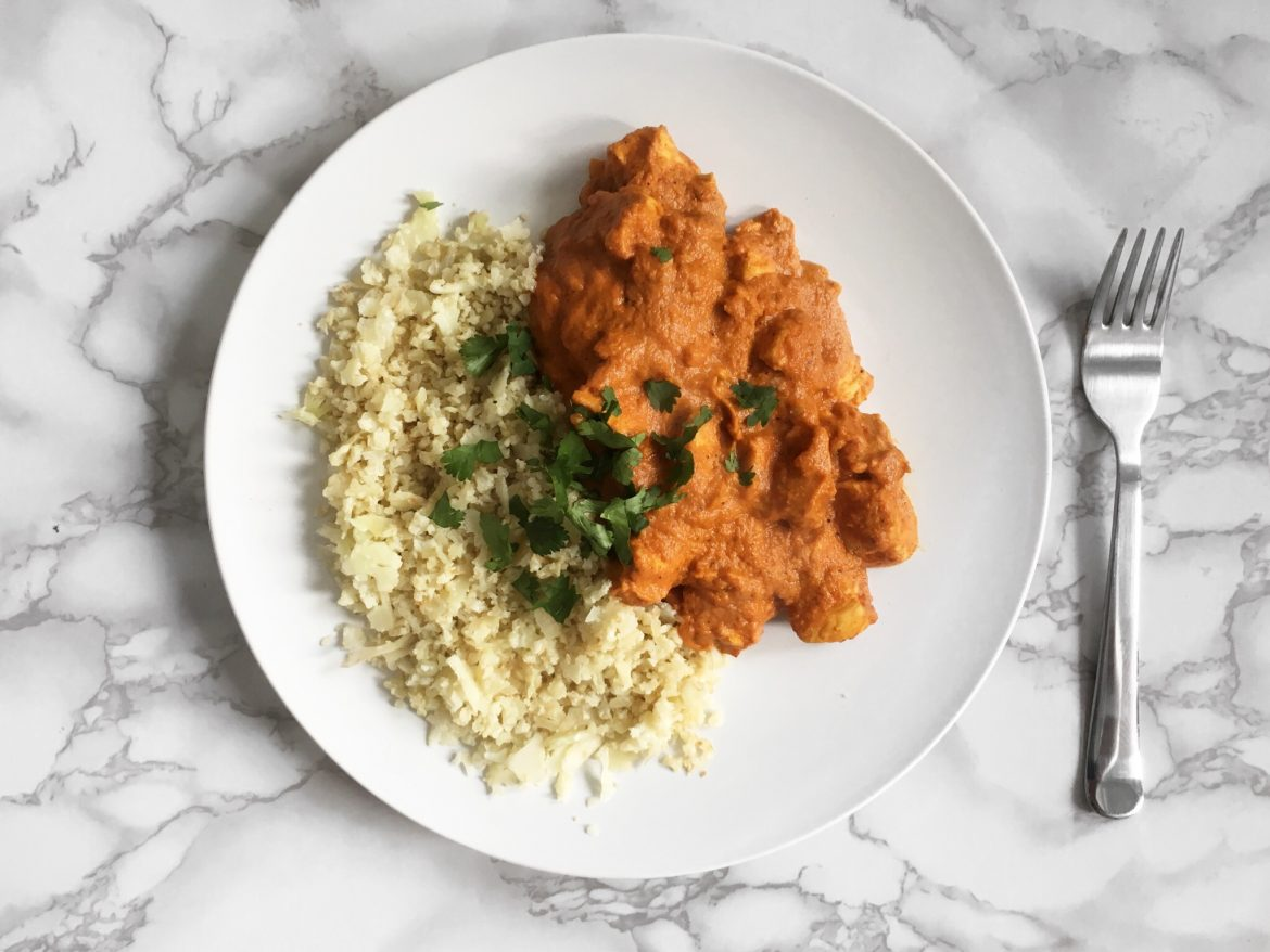 Keto Butter Chicken Amore