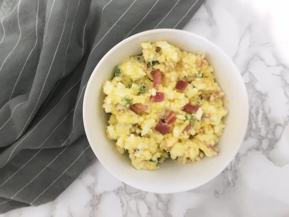 Keto Egg Salad Supreme