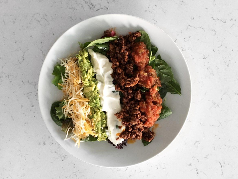 Fiesta de Taco Salad (Keto)